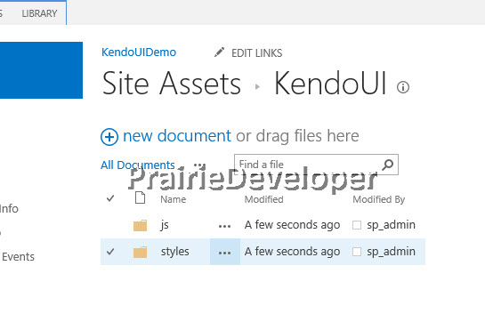 Customize SharePoint Forms With KendoUI Grid
