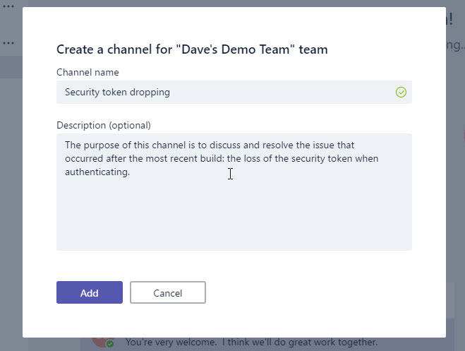 Microsoft Teams - Chat Feature - Little Developer on the ...