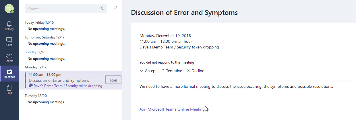 Microsoft Teams: Meetings and Files - Little Developer on