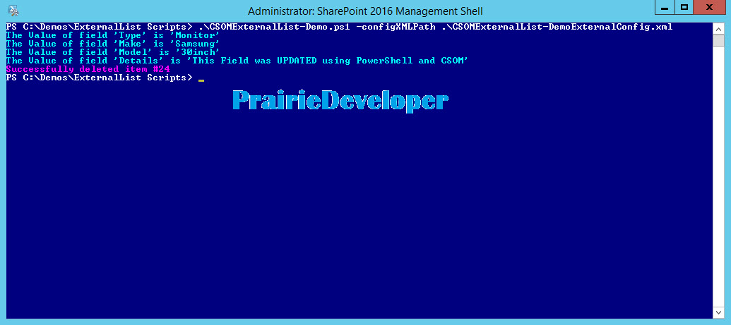 PowerShell Archives - Little Developer on the Prairie