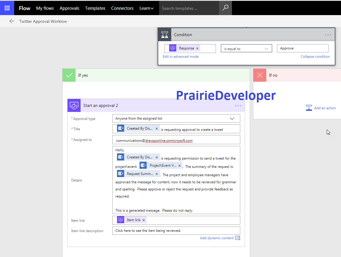 Office 365 - Creating a Multiple Approver Microsoft Flow