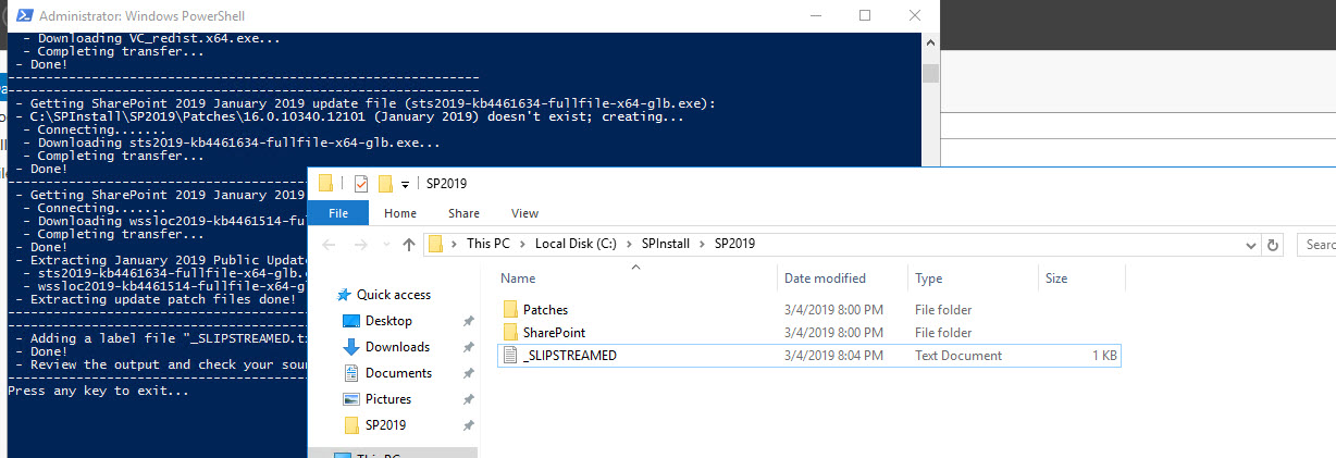 Deploying SharePoint 2019 - Preparing Servers for SharePoint